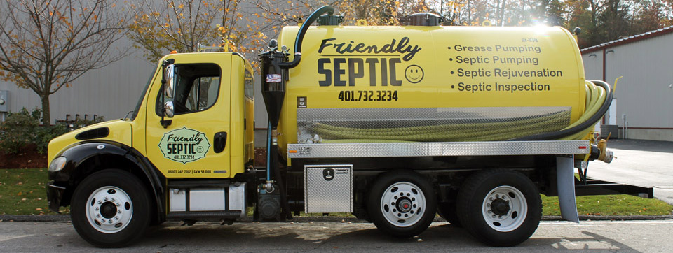 Friendly Septic Truck